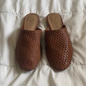 Madewell Cassidy Woven Mules